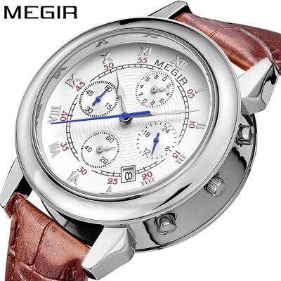 Mens Watches Top Brand Luxury Sport Military Dive 30M Nylon&Leather Strap LED Men Quartz Watch