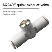 type High quality fittings J-AQ240F 04-00/240F-06-00 Fast Exhaust Valves Pneumatic Components