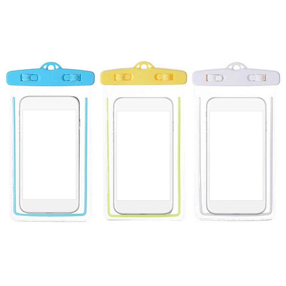 Mobile Phone Case Cover Luminous Storage Bag Swimming Waterproof Phone Case Storage Bag For Outdoor Camping Underwater Movement