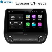 Автомобильный мультимедийный плеер YESSUN, для Ford Ecosport 2015 ~ 2017, GPS, Android, аудио, видео, HD, сенсорный экран, стерео, без CD, DVD