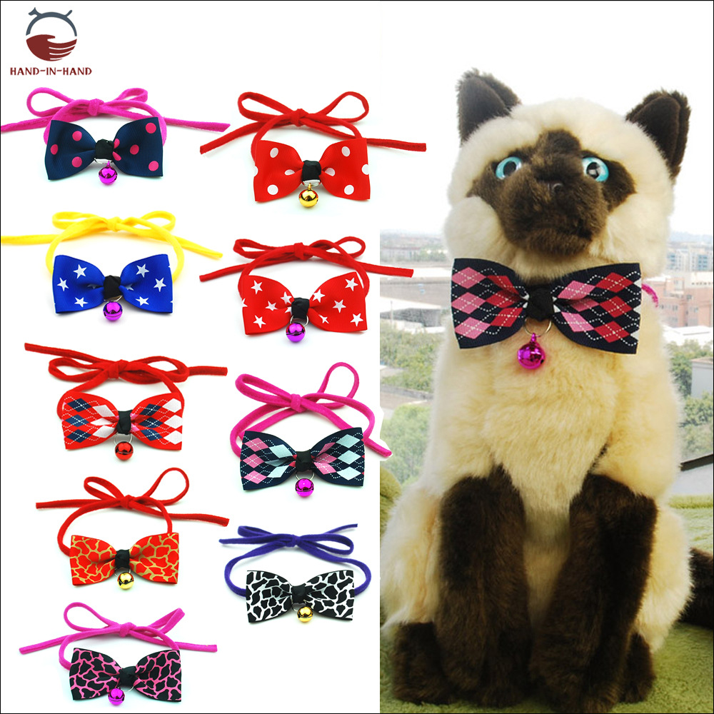 Hand-in-hand Pet Supplies Dog Supplies Dogs And Cats Pet Tie Pet Decorations Pet Bow Collar