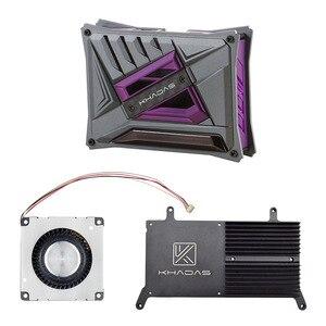 Khadas VIM DIY Case Kit with Khadas Vim Series Cooling Fan with Heatsink