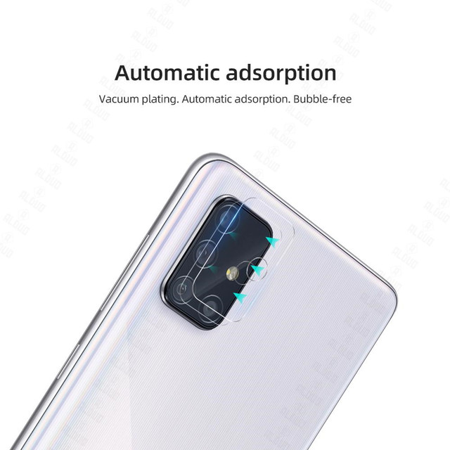 2pcs Camera Lens Glass for Samsung Galaxy A51 A71 Note 20 S20 Ultra Plus S20+ A31 A21S M31 A02 A12 S21 Screen Protector S20 Fe 2