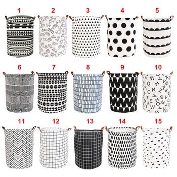 Foldable Laundry Basket Large Capacity Laundry Hamper Dirty Clothes Storage Organizer Bucket Homehold Storage Bag