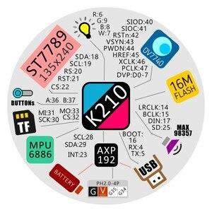 Image 3 - Новое поступление M5Stack! StickV K210 AI Camera 64 битная фотовспышка с чипом 16M ST7789 IPS LCD