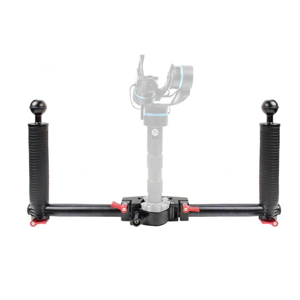 Двойной ручной Кронштейн ручной удлинитель стабилизатор Монтажный кронштейн для Dji Slr камеры стабилизатор