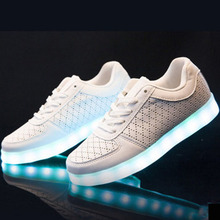 2019 New Couple Luminous Shoes Trend Casual Men Women Shoes Charging L