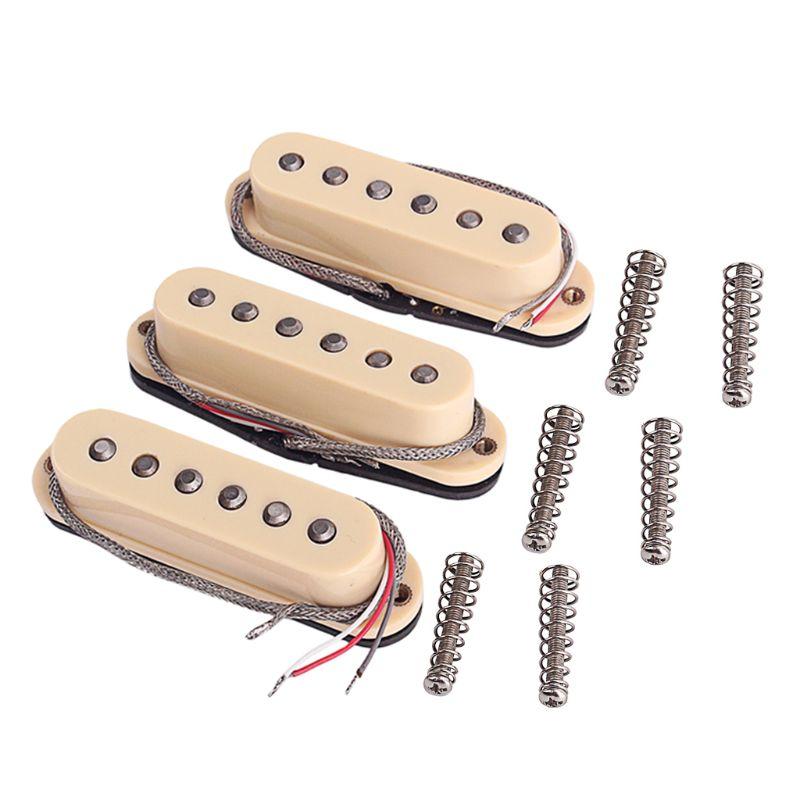 9 pièces/ensemble guitare électrique Double couche ensemble de micros guitare accessoires d'instruments