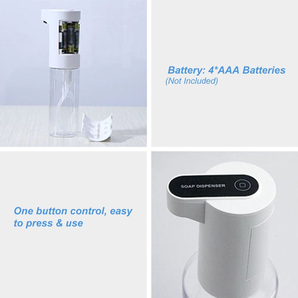 Hc2971d4b6c06425ca5777d4e0a5ca299v Automatic Alcohol Spray Dispenser Touchless Alcohol Sanitizer Disinfectant Liquid Sope Dispensers IR Sensor Bottle for Bathroom
