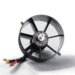 Image 3 - FMS 64mm 4S 3S 11 Blades EDF Unit With KV3150 KV3900 Brushless Motorfor RC Airplane Ducted Fan Plane