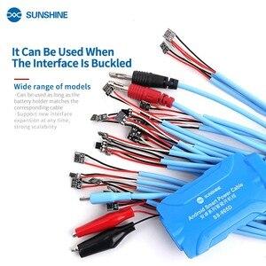Умный кабель питания SS-905D источник питания батареи тестовая линия активации загрузки для iphone 5-11 и Android Samsung huawei xiaomi
