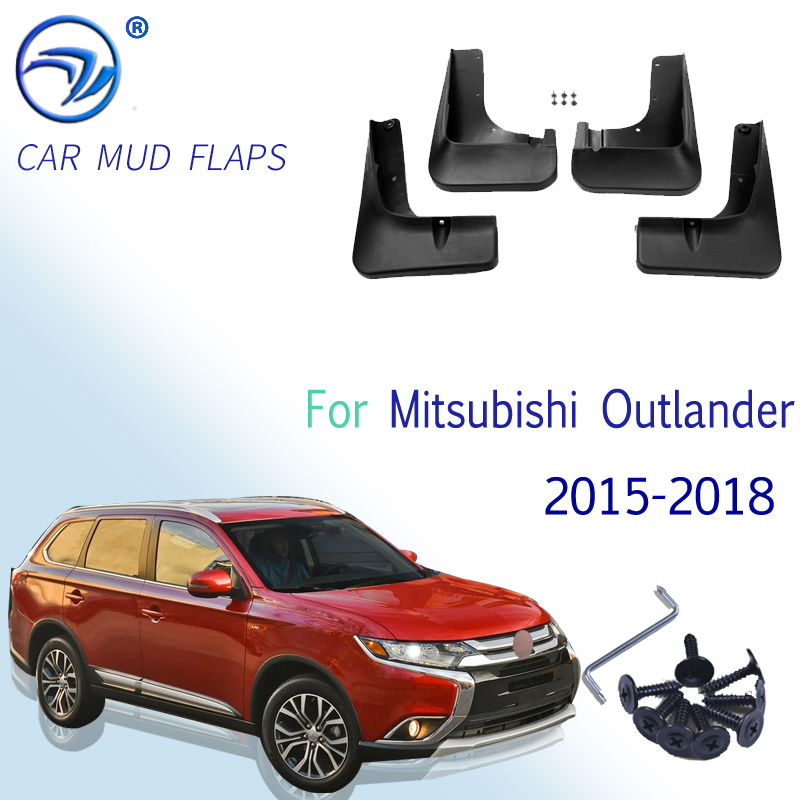 Брызговики для Mitsubishi Outlander 2015, 2016, 2017, 2018