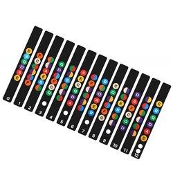 Guitar Neck Fretboard Note Map Fret Sticker Lables Decals Learn Beginner Fret Scale Fingerboard Electric Guitarra Sticker GYH