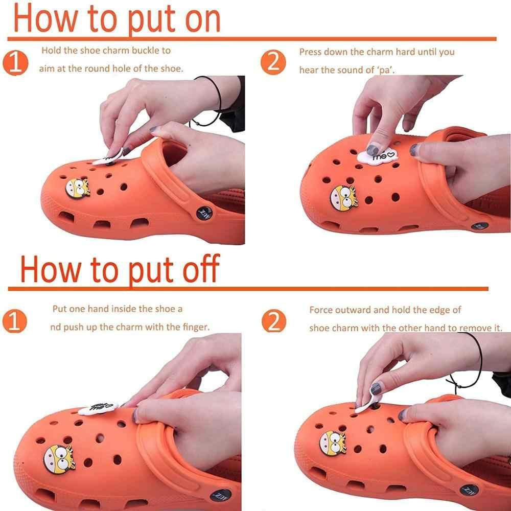 1 Chiếc Hoa Đáng Yêu Động Vật PVC Giày Quyến Rũ Phù Hợp Với Croc Chó Xương Rồng Phụ Kiện Giày JIBZ Giày Đồ Trang Trí Đồ Trang Trí Quà Tặng