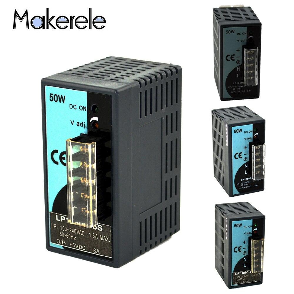 LP Series 25W 50W 100W 150W 300W 500W Din Rail Single Output Switching Power Supply AC DC 5V 12V 24V 48V Switching Power Supply-2