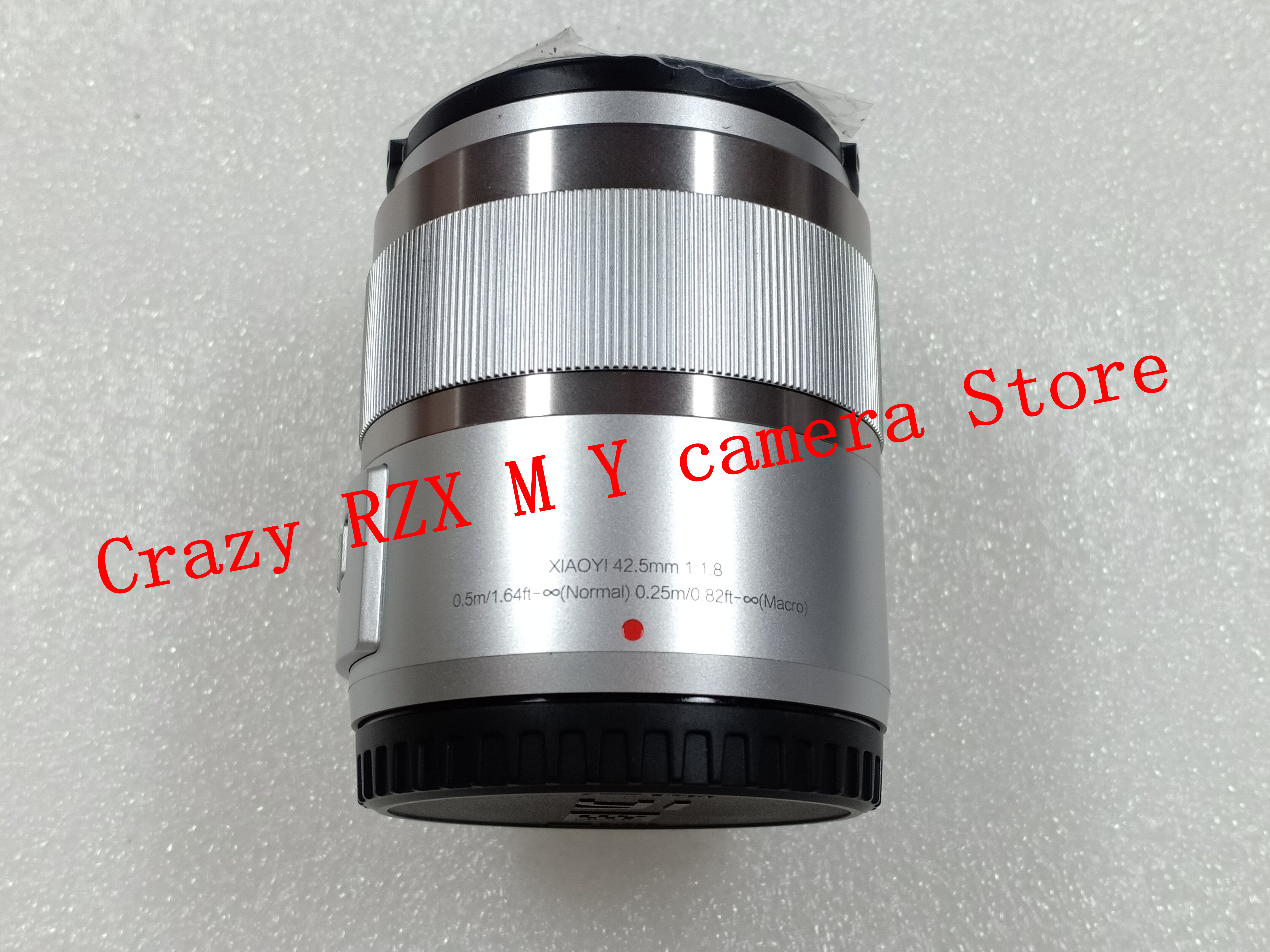 Nouveau 42.5mm 42.5 F1.8 à focale fixe Pour YI M1 pour Olympus E-PM1 E-P5 E-PL3 E-PL5 E-PL6 E-PL7 E-PL8 E-PL9 EM5 II EM10 II caméra - 2