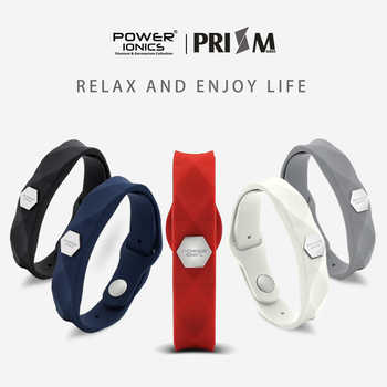 Power Ionics Prism Ultra Waterproof Men Women Ions and Germanium Fashion Sports Health Bracelet Wristband Xmas Christmas Gifts - DISCOUNT ITEM  44% OFF All Category