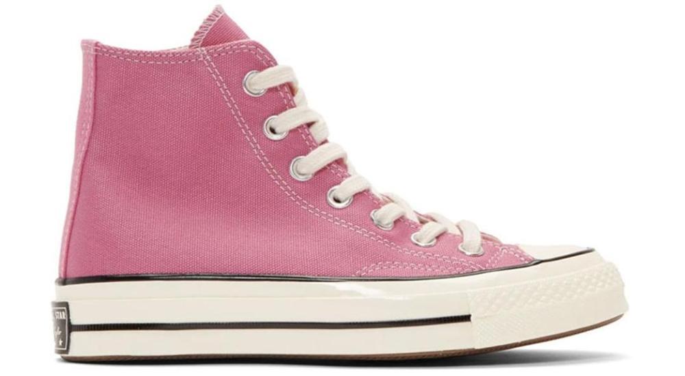 Converser original chuck taylor 1970s oi topo homens e mulheres unisex sapatos de skate diário lazer luz rosa sapatos de lona plana