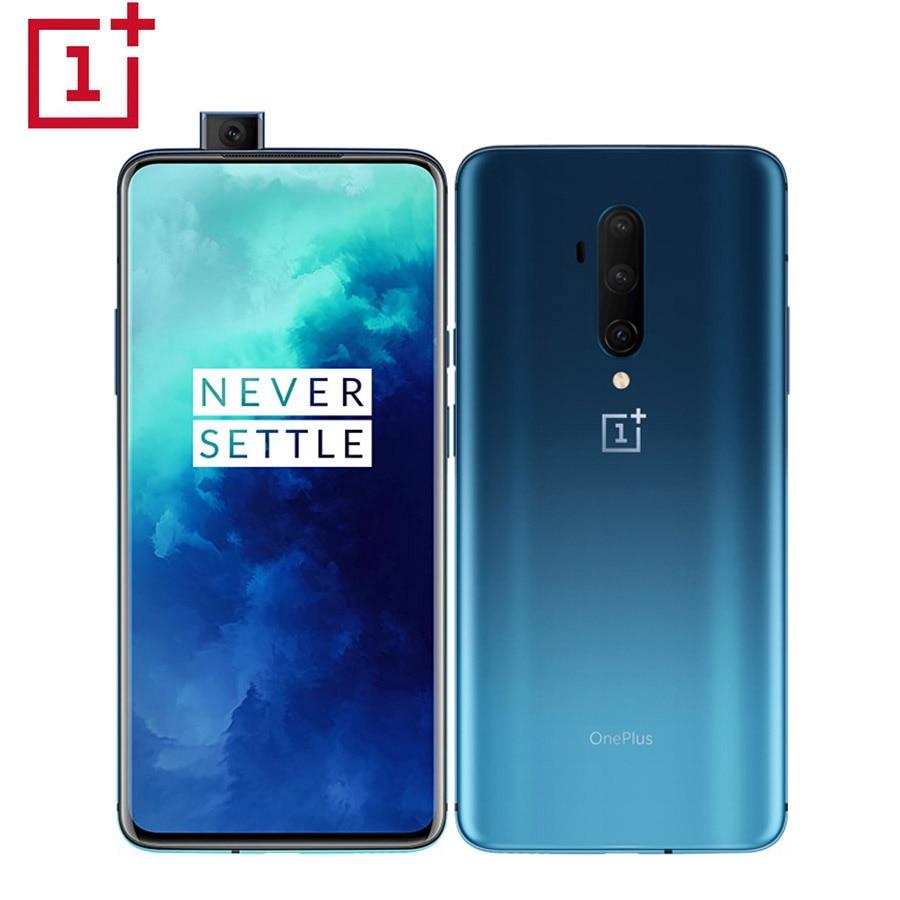 "Global Version Oneplus 7T Pro HD1913 8GB 256GB Mobile Phone 6.67"" Snapdragon 855+ Octa core 48MP 4085mAh 30W 4G NFC Smartphone"