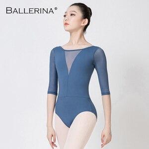 Image 1 - ballet leotard women Dance wear ballet costumeProfessional training gymnastics adulto leotard Ballerina 5901