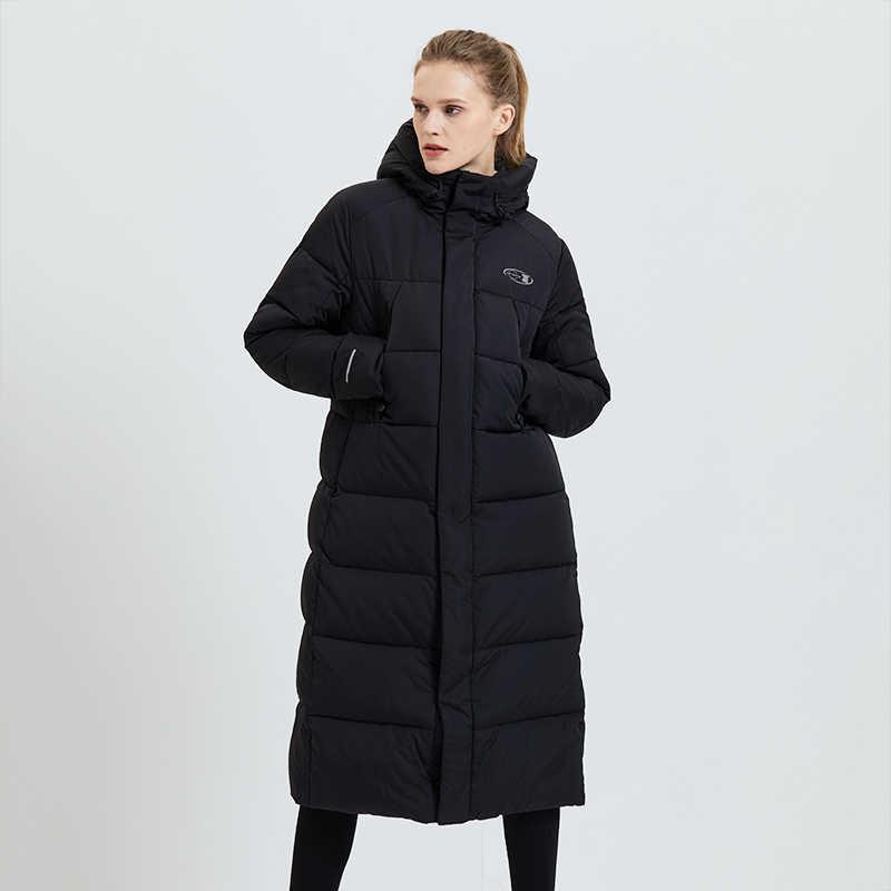 Tiger Force 2019 chaqueta de invierno para mujer abrigo largo para mujer moda femenina Casual Parkas abrigo cálido con capucha chaqueta de mujer