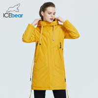 ICEbear 2020 Women spring jacket Female coat with a hood casual wear quality