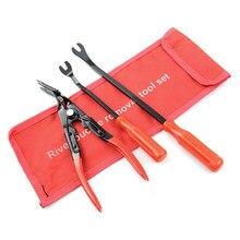 Remover Removal Puller Pry Tool tapicerka drzwi samochodowych tapicerka oporowa pinceta klip szczypce narzędzie zestaw narzędzi ręcznych