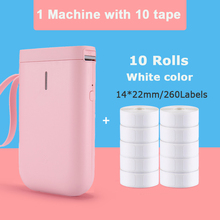 Thermal-Label-Printer Sticker Niimbot Portable Pink White And Home 14x22mm D11-Price