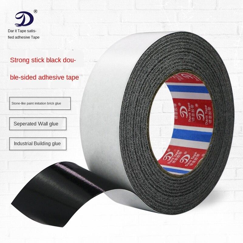 EVA Black Foam Tape Black Double-Sided Adhesive Tape Super Sticky Black Cotton Paper Shading Opaque Double-sided Adhesive Tape