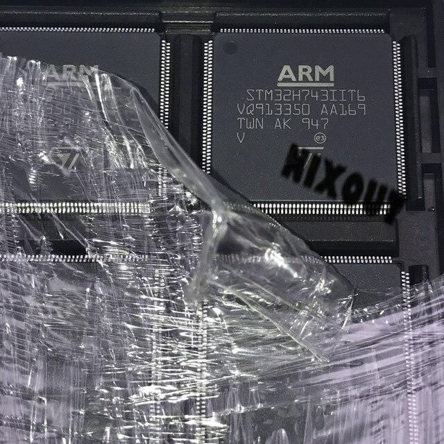 1 قطعة ~ 10 قطعة/الوحدة 100% جديد الأصلي STM32H743IIT6 STM32H743 QFP176 في المخزون (خصم كبير إذا كنت بحاجة إلى المزيد)