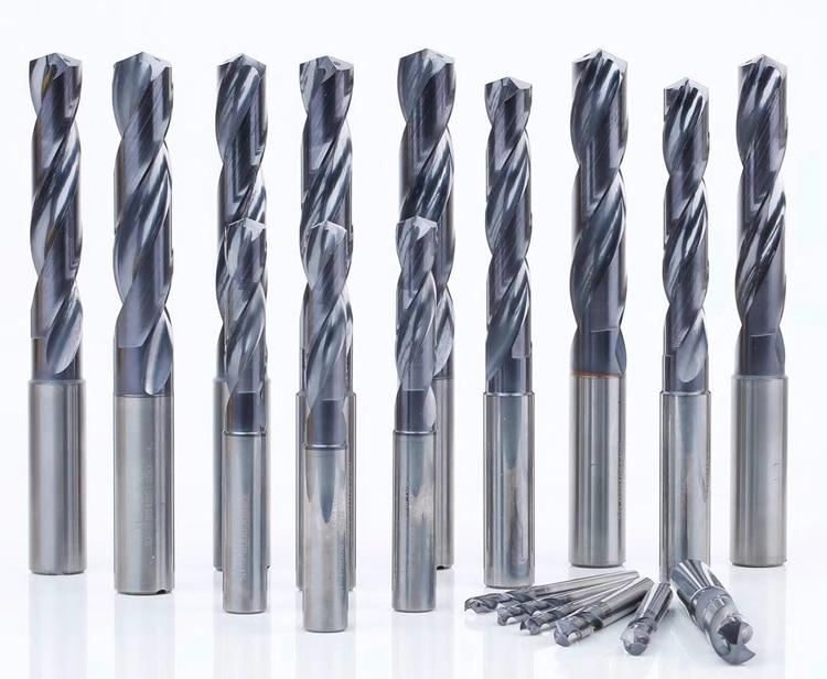 KLOT SP Series 5D 14mm-40mm Indexable Drill Insert U Drill W//Coolant Thru Hole