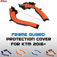 2016-2017 X-Grip Frame Guarda Proteção Capa Para KTM SX125 SX150 SXF250 SXF350 SXF450 Dirt Bike MX motocross Frete Grátis