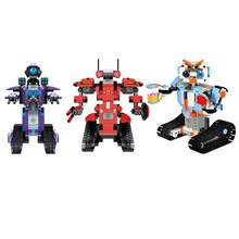 Hot APP Controlling Robot DIY Assembling Robot Figures Toy 2.4 G Remote Control Building Block Action For Children Model Toys Gi(China)