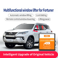 Car window close auto closing 4 doors rearview folding lift safety Muity functional window lifter is for Toyota 16 18 Fortuner