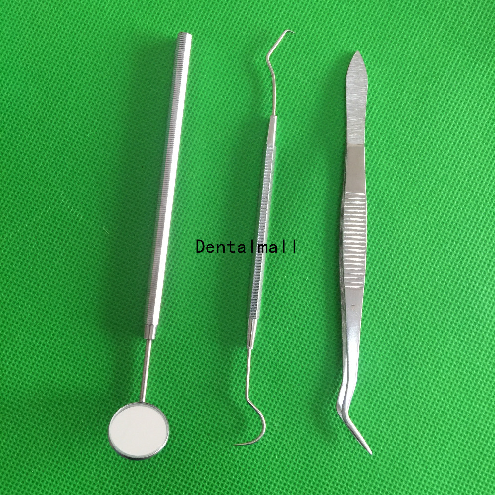 3 шт./компл., базовый комплект стоматологических инструментов, плоскогубцы из нержавеющей стали
