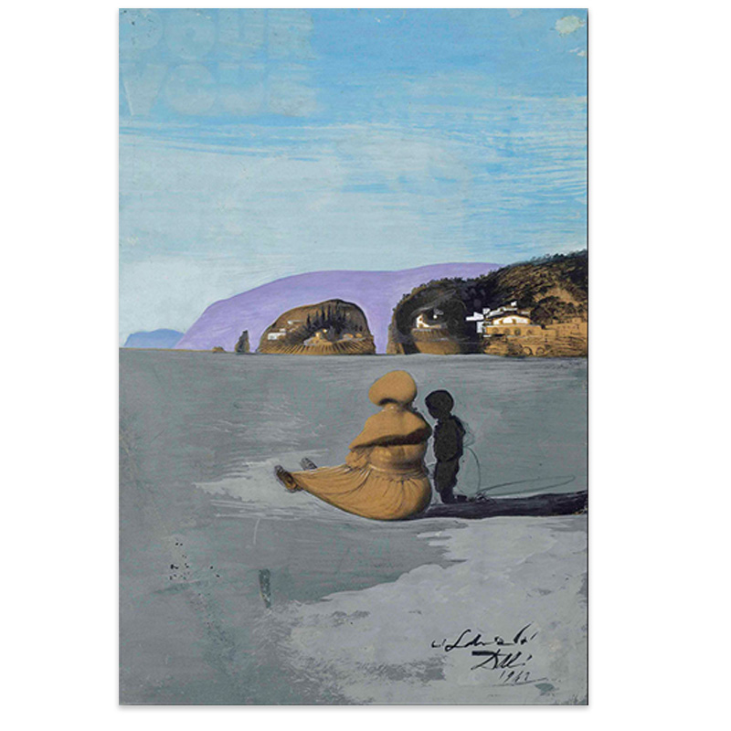 Modern Printed Canvas Painting Wall Art Salvador Dali Oil Painting Ladolescence Wall Pictures For Living Room Home Decor 7