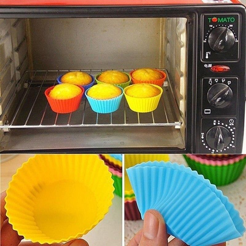 Силиконовая форма для торта круглая форма для выпечки кексов кухонная жаропрочная посуда для готовки DIY Инструменты для украшения торта Формы для тортов    АлиЭкспресс - форма для выпечки