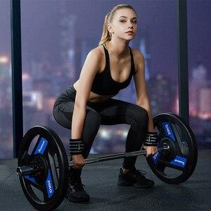 Image 4 - Palestra Fitness Sollevamento Pesi Bracciali Powerlifting Wristband Supporto per il Polso Elastico Avvolge Bende Brace per Sicurezza E Prevenzione Nello Sport