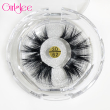 Lashes 3D 100% Siberian Mink Fur Eyelashes Luxury Volume For Make Up Tool cilios Hand-Made Cruelty Free