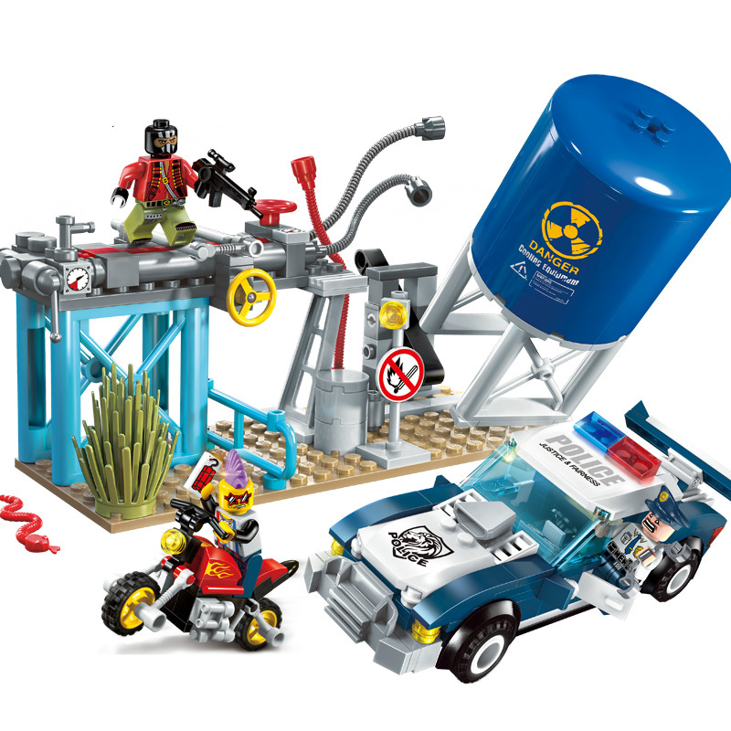 Building Blocks Construction Boy Toys Technic Duplo Brinquedos loz E1913 Models Building Kits Blocks Boy Toys For Chlidren.