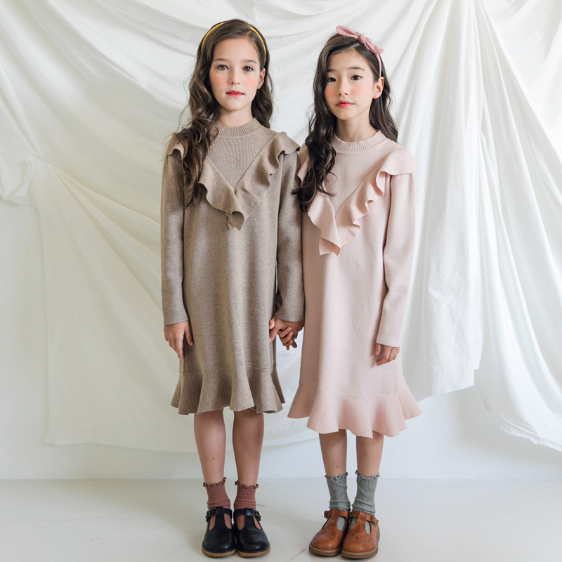 stylish dresses for girls in winter