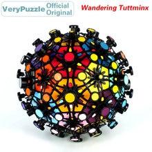 купить Original VeryPuzzle Wandering Tuttminx Football Magic Cube Speed Twisty Puzzle Brain Teasers Educational Toys For Children по цене 3109.36 рублей