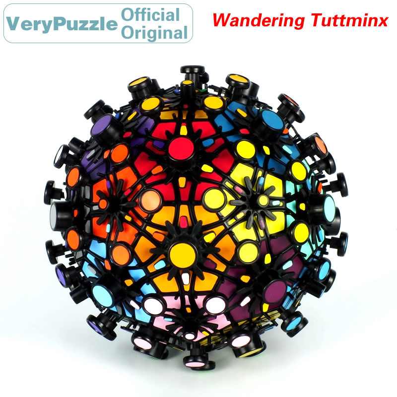 Original VeryPuzzle errant Tuttminx Football magique Cube vitesse Twisty Puzzle casse-tête jouets éducatifs pour les enfants