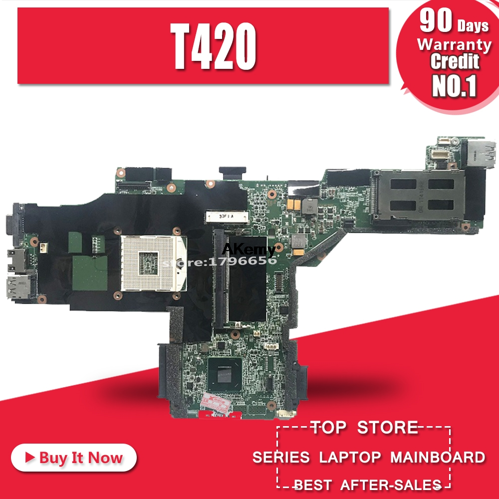 Main board For lenovo thinkpad T420 laptop motherboard 63Y1697 DDR3 100% tested|Motherboards| |  - title=