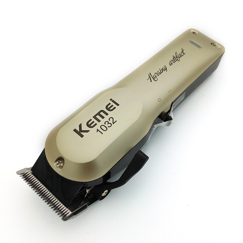 <font><b>Kemei</b></font> KM-<font><b>1032</b></font> Powerful Hair Beard ProfessionTrimmer Electric Hair Clipper Cordless Hair Cutting Machine with Combs Barber Schaar image