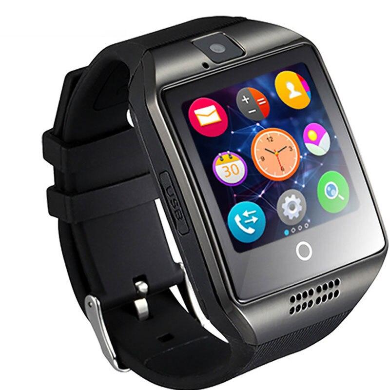Relógio inteligente Pedômetro Sono Moritor Apoio TF Cartão SIM Câmera Bluetooth smartwatch para Android IOS Xiaomi Huawei telefone