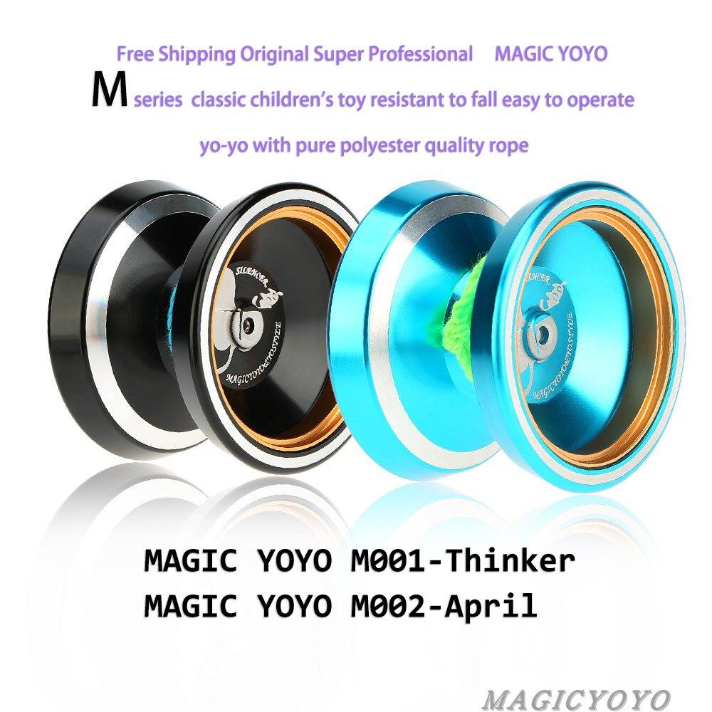 Magic YOYO Ball N8 M001 M002 Yo Yo Ball Toy Alloy Aluminum Yo-Yo Bearing Reel