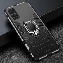 Funda de Metal para Samsung Galaxy M51, A31, A51, A71, A 31, 71, M 51, parachoques duro