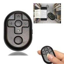 Универсальный мобильный телефон Bluetooth пульт дистанционного управления селфи камера затвора для TikTok электронная книга поворот страницы для iPad iPhone SamSung Xiaomi