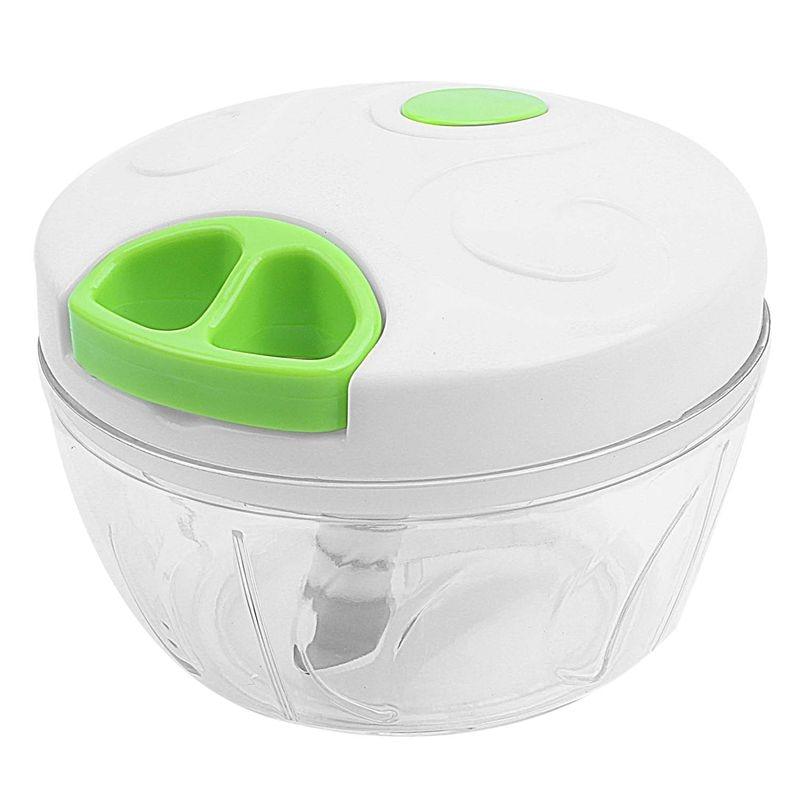 Manual Food Chopper For Vegetable Fruits Nuts Onions Hand power Mincer Blender Mixer|Shredders & Slicers| |  - title=